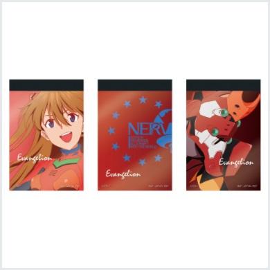 シン・エヴァ一番くじ【2021年6月】 F賞:メモ帳セット