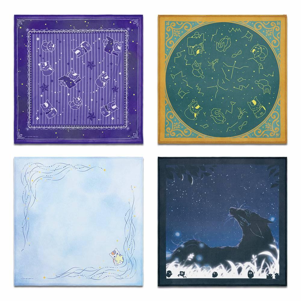 夏目友人帳一番くじニャンコ先生と星景色【2021年7月】 E賞:星空スカーフ