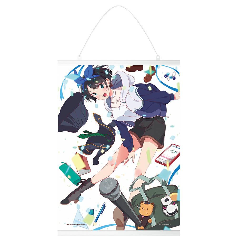 彼女お借りします一番くじ【2021年6月】 D賞:更科瑠夏描きおろしキャンバス地タペストリー