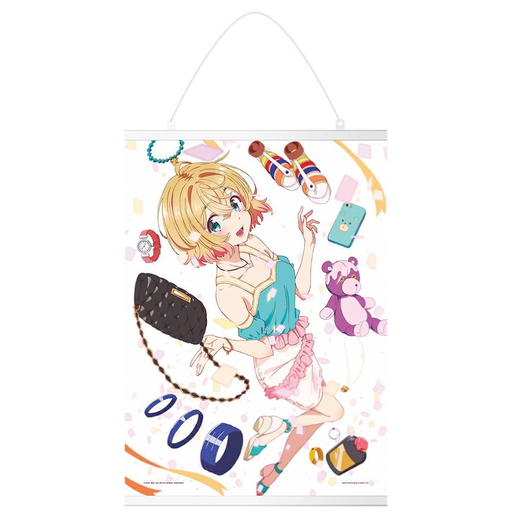 彼女お借りします一番くじ【2021年6月】 C賞:七海麻美描きおろしキャンバス地タペストリー