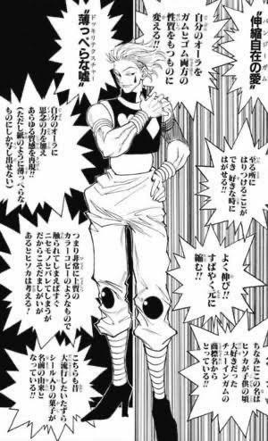 冨樫義博先生「ハンターハンター」ヒソカ