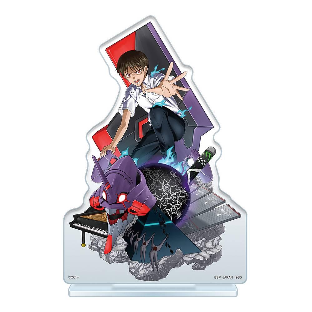 シン・エヴァ一番くじ作戦開始!【2021年8月】 F賞:碇シンジ ビジュアルスタンド