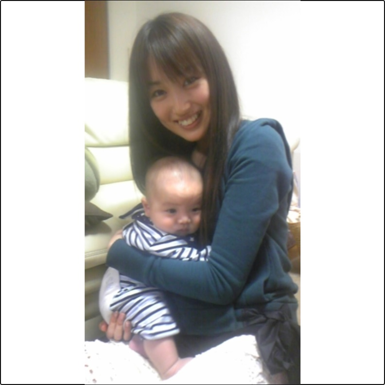 高梨臨&赤ちゃん