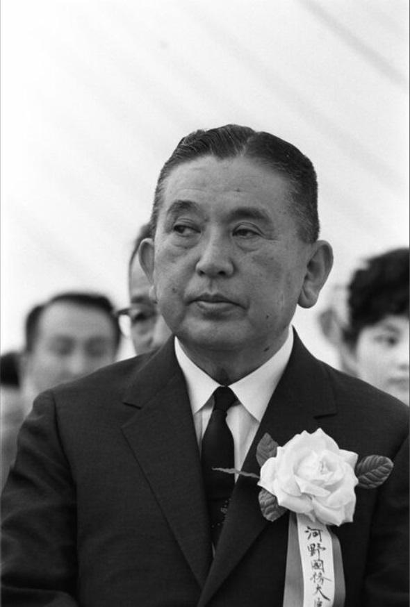 河野太郎の祖父「河野一郎」